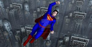 Superman  Legend of Metropolis by TeddyBlackBear2040