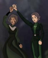 Lin and Suyin Beifong Re-upload by AvengerBlackwidow