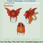 Manticore hat design by ARCatSK