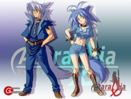 Ataraxia Online: Garou by Goldsickle