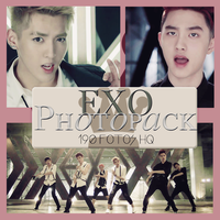 Photopack EXO- Growl- Parte 2 by DiamondPhotopacks