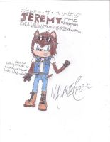 Jeremy the Hedgehog by Tonythunder