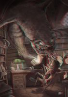 Library 3-D conversion by MVRamsey
