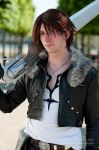Squall Leonhart - Close Up 1 by SketchMcDraw