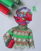 Chistmas Sweater by ninja-inu