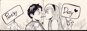 Pocky Day by AlbertRemong