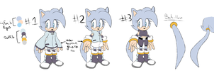 Skyla the Hedgehog Redesign and Outfits by SkywaySky