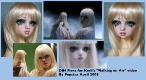 Flora BJD for Kerli by PepstarsWorld