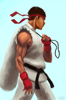 Ryu Walk by freeCardboardBox