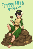 Toph - for 777777th visitor by Nestkeeper