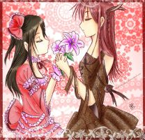 -- Our Valentine's Day -- by Kurama-chan