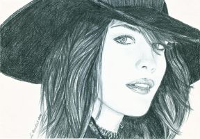 Liv Tyler by WitchiArt