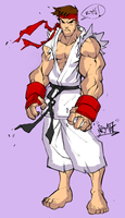 Ryu by Luned13