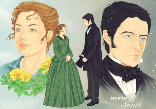 North and South by LinART