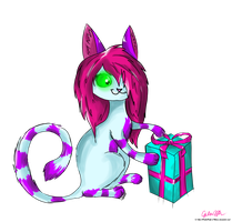 Gift for KataraTheKat :3 by PinkiePieZ
