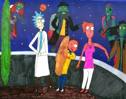 Rick and Morty: Why'd it have to be Space Pirates? by FrankieFingers