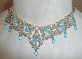 Byzantine Diamonds Necklace by Wabbit-t3h
