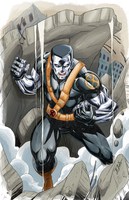 Colossus Ultimate X-men commission by brianb3x
