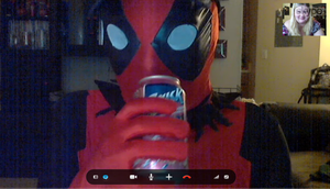 Skypin' as Deadpool by Agent-Eli