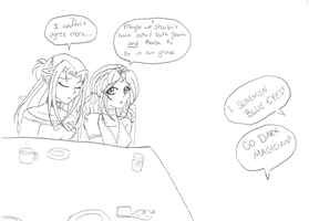 Lunch Date Gone Wrong by KionaKina