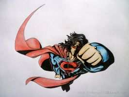The Superman - color by ajithm