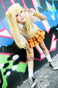 Idolm@ster - Rika Jougasaki by Itchy-Hands