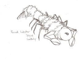 Furred Lobster by Animikean
