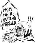 Ana's reaction to the news by Shocolad