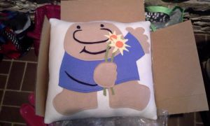 Ziggy Pillow Commission by nenfere