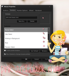 cusor pink and black mini by tutorialslucy