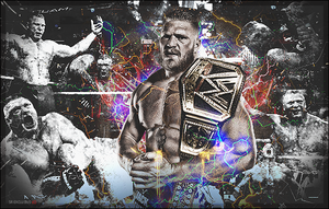 Brock Lesnar Signature by SoulRiderGFX