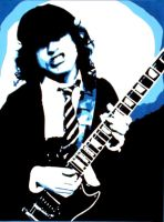 Angus Young by shaman-of-bank