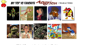 K-Dog0202's Top 10 Favorite Angry Characters by K-dog0202