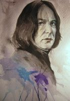 Snape. Watercolor. by Kaprasis