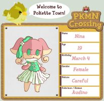 PKMN Crossing App - Nina by Prismshard