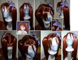 Ayame Wig from Inu Yasha by taiyowigs