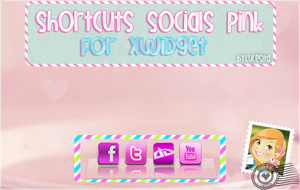 Shortcuts Socials Skins~By:Lucesita by LucesitaEditions