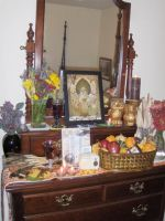 2010 Winter Nights Altar I by wanderingmage