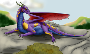 Keiroma - Cliff-Tops by SavagingDragon