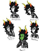 Kurloz Makara Sketches by WatercatdragonMiu