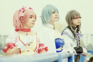 We'll save the World - Puella Magi Madoka Magica by EuphieAkai
