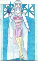 Itiki's Energon Dress and Palace Colored by creationstar