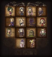 Final Fantasy VI SD Mural by Dice9633