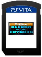 Nicktoons Return of the Toybots Card by ETSChannel