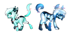 -Blue- Animal Auction [Closed] by GeXeHeNNa