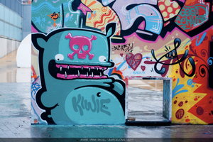 PINK SKULL by The-Kiwie