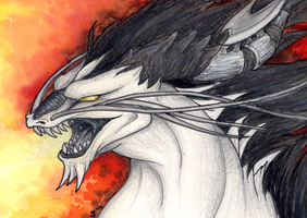 ACEO/ATC: Rage by Samantha-dragon