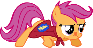 Scootaloo vector by Shardii