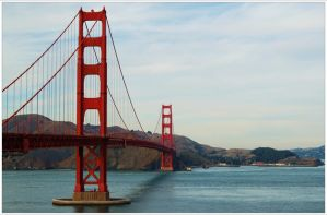 Golden Gate Bridge by FuryThames