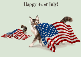 Adopt- Happy 4th of July by elen89